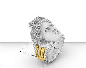 3D printable model apollo god ring