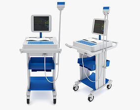 Medical - Wireless Digital Electrocardiograph 3D model