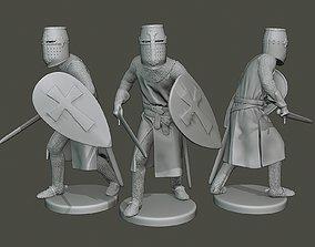 3D print model Knight Templar action T1