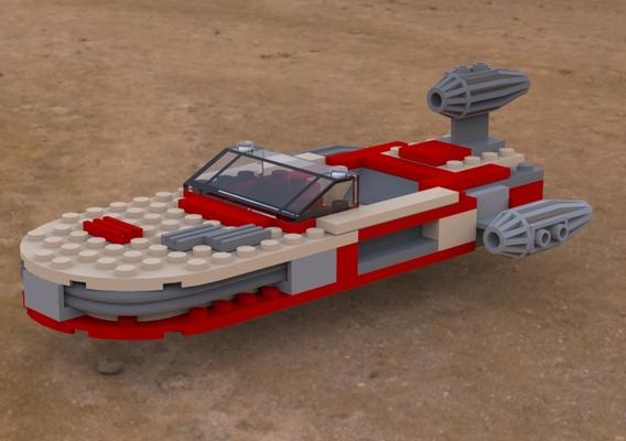 Modular Brick Landspeeder
