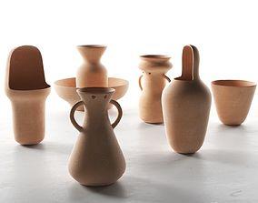 Gardenias Vases 3D