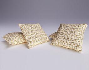 modern 3D Contemporary Cushion