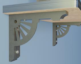 Shelf Bracket 7 3D print model