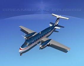 3D model Beechcraft 1900C V15