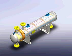 3D model HEAT EXCHANGER - SURFACE AREA 80 m2