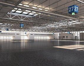 cargo Exhibition Hall 3D model