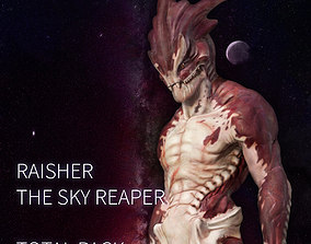 Raisher the Sky Reaper Total Pack 3D model
