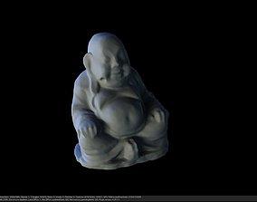 BUDDAH Statue Photoscanned 3D asset