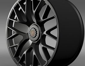 Porsche GTS 2015 rim 3D