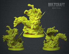 Jelly monster 3D print model