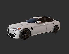 3D model Low Poly Car 3