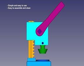 3D printable model Tart Former - Formador de Tartaletas