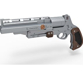 3D Tobias Beckett Blaster RSKF-44 from Solo A Star Wars 1
