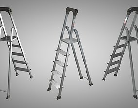 Ladder 3D model household