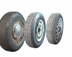 3D model Wheels pack