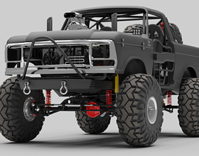 1978 Ford Bronco Rock crawler 3D
