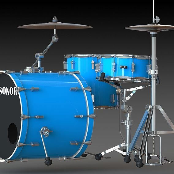 Sonor Drum Set 3007 series
