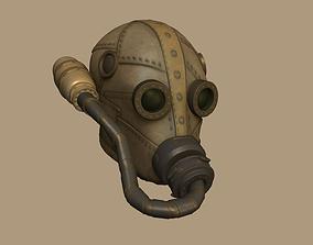 Wasteland Mask 01 - Sci-Fi Character Costume 3D asset