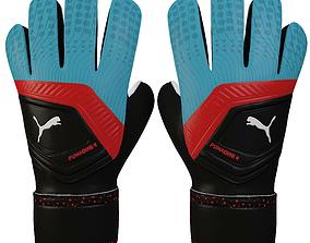3D Puma One 4 Glove Blue