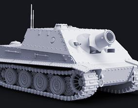 RW-61 Siege Kitty Mortar Tank 3D printable model