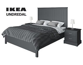 Set Ikea Undredal 3D model