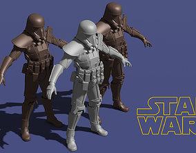 3D printable model Star Wars Death Trooper