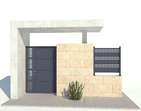 Fence 03 option 2 3D model