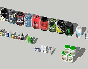 3D Pharmacy Cosmetics and Sports Nutrition products