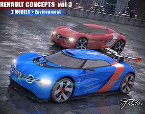 3D Renault concept vol 3