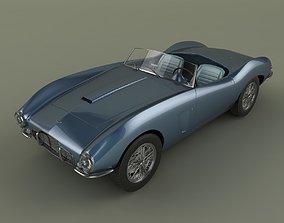 3D Aston Martin DB2 4 Bertone Spider