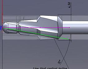 Milling cutter dentist 3D model