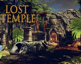 3D model Lost Temple