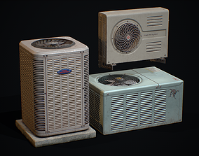 Air Condition 3D asset