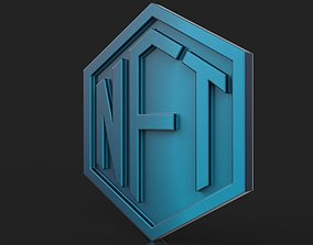 NFT Coin 3D print model