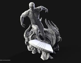 3D print model 3dsofsan Silver Surfer