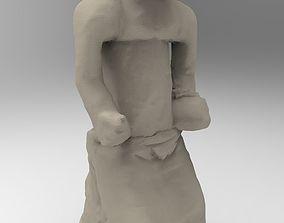 Nigerian figurine statue 3D printable model