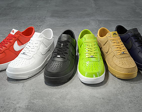 3D model Nike Air Force 1 low collection