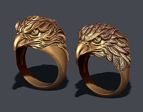 3D printable model Eagle ring male | CGTrader