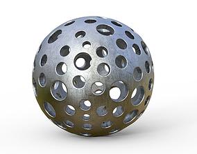 3D spherical model 2