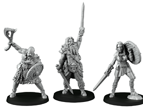 band of barbarians 3D printable model