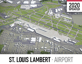 St Louis Airport 3D asset