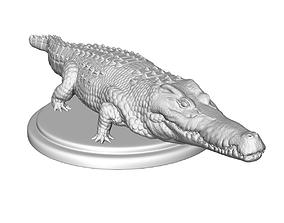 crocodile sculpt 3d print