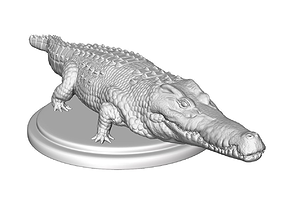 crocodile sculpt 3d print