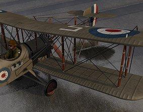 3D model Airco DH2 - DeHavilland DH2