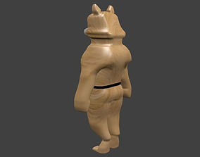 Wolf model Rigged 3D