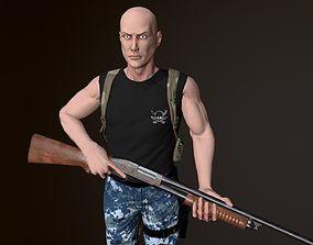 Survivor Man 3D model
