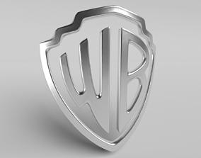 3D asset Warner 03 Logo
