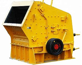 PF-1315 IMPACT CRUSHER COMPLETE DRAWING 3D model