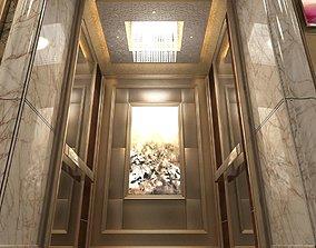 3D Elevator hall