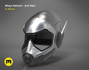 Wasp helmet - Ant-Man 3D print model